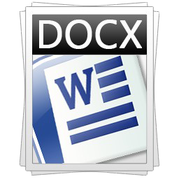 I Do Events Word Docx Document